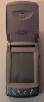Der Motorola Accompli, ein Smartphone mit Touchscreen