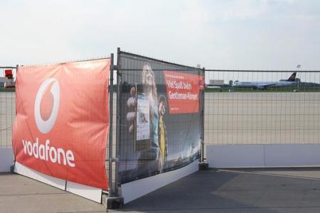 Vodafone am Flughafen