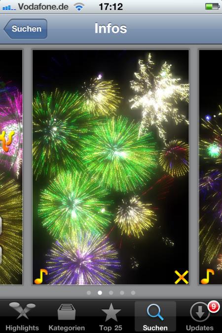 Silvester App von D2