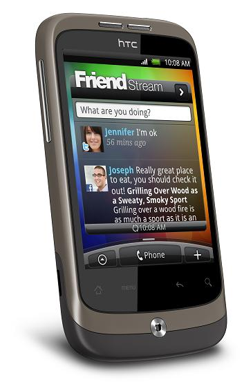 HTC Wildfire - ein Androide (Foto: HTC Corp.)