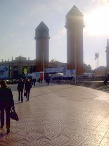 Zum Letzen Mal am Plaza Espanya: MWC 2012