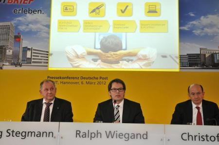 EPost Pressekonferenz CeBIT 2012