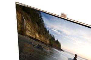 Fernseher mit Webcam (Quelle: samsung.ch)