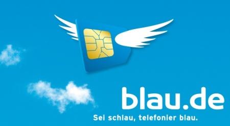 Blau ist eine Discount Marke von E-Plus