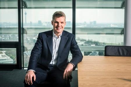 Jens Schulte Bockum ist der Vorstandsvorsitzender der Vodafone AG.  Hier Jens Schulte Bockum im Board des Vodafone Campus in Duesseldorf.
