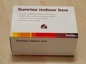 Packung der indoor box
