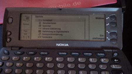 Legendäres Smartphone Nokia 9110i